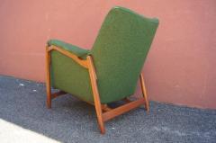 Scandanavian Modern Walnut Lounge Chair - 982986