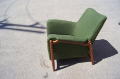 Scandanavian Modern Walnut Lounge Chair - 982987