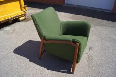 Scandanavian Modern Walnut Lounge Chair - 982988