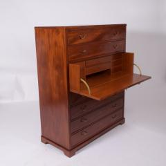 Scandinavian Cabinet Maker Mahogany Secretary ca 1920s - 1936370