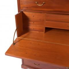 Scandinavian Cabinet Maker Mahogany Secretary ca 1920s - 1936373
