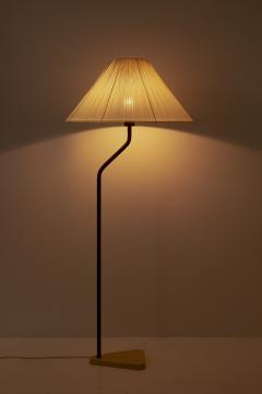 Scandinavian Midcentury Floor Lamp in Brass 1940s - 1396742