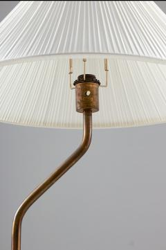 Scandinavian Midcentury Floor Lamp in Brass 1940s - 1396744