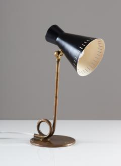 Scandinavian Midcentury Table Lamp in Brass - 1620041