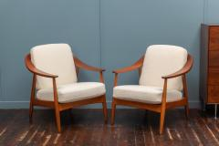 Scandinavian Modern Lounge Chairs - 1059743
