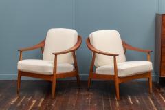 Scandinavian Modern Lounge Chairs - 1059746
