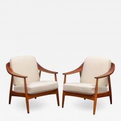 Scandinavian Modern Lounge Chairs - 1059963