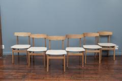 Scandinavian Modern Oak Dining Chairs - 1801114