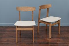 Scandinavian Modern Oak Dining Chairs - 1801116