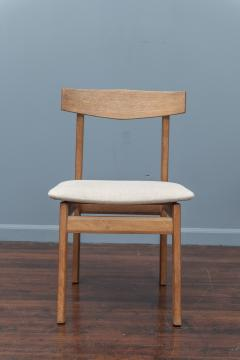 Scandinavian Modern Oak Dining Chairs - 1801117