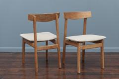 Scandinavian Modern Oak Dining Chairs - 1801119