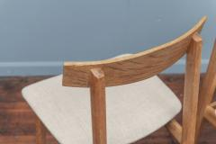 Scandinavian Modern Oak Dining Chairs - 1801120