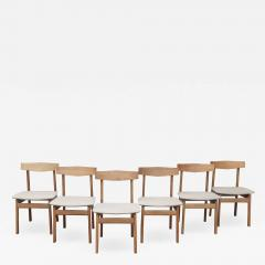 Scandinavian Modern Oak Dining Chairs - 1802526
