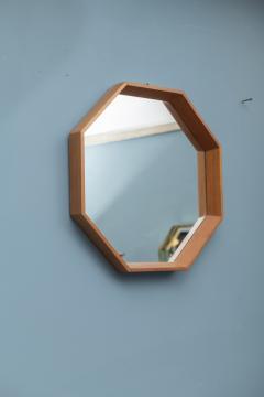 Scandinavian Modern Octagonal Wall Mirror - 1022214