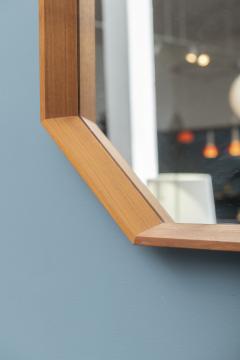 Scandinavian Modern Octagonal Wall Mirror - 1022215