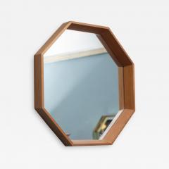 Scandinavian Modern Octagonal Wall Mirror - 1023311