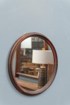 Scandinavian Modern Rosewood Wall Mirrors - 1934692