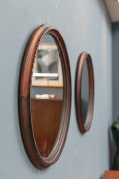 Scandinavian Modern Rosewood Wall Mirrors - 1934698