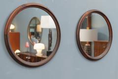 Scandinavian Modern Rosewood Wall Mirrors - 1934702