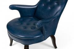 Scandinavian Modern Style Fritz Wingback Armchair - 1108098