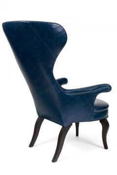 Scandinavian Modern Style Fritz Wingback Armchair - 1108100