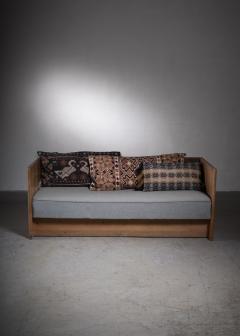Scandinavian Modern pine and oak sofa Denmark circa 1929 - 2006371