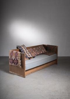 Scandinavian Modern pine and oak sofa Denmark circa 1929 - 2006372