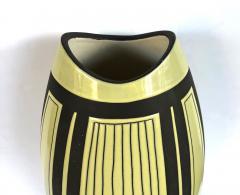 Schlossberg Keramik Two Schlossberg Keramik 1950s Pale Chartreuse Glazed Vases - 1989633