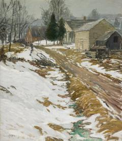 Walter Elmer Schofield Frosty Morning - 9627