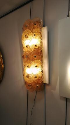 Sconce with golden crystal dics - 1096232