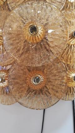 Sconce with golden crystal dics - 1096234