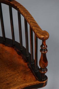Scottish Darvel Comb Back Windsor Armchair by Hugh Shields - 1822021