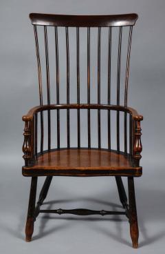 Scottish Darvel Comb Back Windsor Armchair by Hugh Shields - 1822022