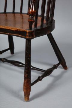 Scottish Darvel Comb Back Windsor Armchair by Hugh Shields - 1822023