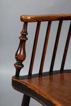 Scottish Darvel Comb Back Windsor Armchair by Hugh Shields - 1822024