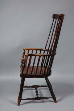 Scottish Darvel Comb Back Windsor Armchair by Hugh Shields - 1822025