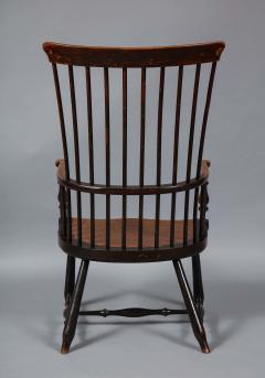 Scottish Darvel Comb Back Windsor Armchair by Hugh Shields - 1822028