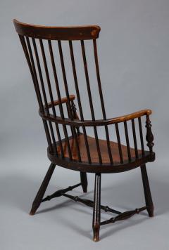 Scottish Darvel Comb Back Windsor Armchair by Hugh Shields - 1822029