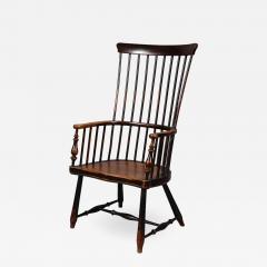 Scottish Darvel Comb Back Windsor Armchair by Hugh Shields - 1824347