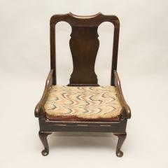 Scottish Fireside Lambing Chair circa 1760 - 80150