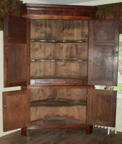 Scottish George III Period Corner Cabinet - 1464421