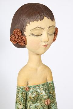 Sculpted Ceramic Girl - 1116689