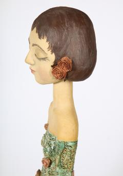 Sculpted Ceramic Girl - 1116695