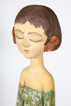 Sculpted Ceramic Girl - 1116697