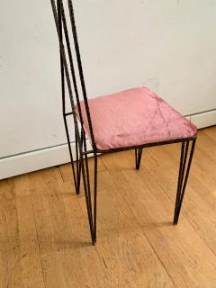 Sculptural Hight Back Chair and Side Table - 1979379