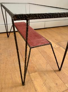 Sculptural Hight Back Chair and Side Table - 1979380