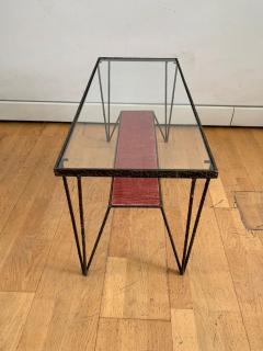 Sculptural Hight Back Chair and Side Table - 1979381