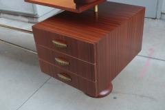 Sculptural Italian Modernist Desk - 1881204
