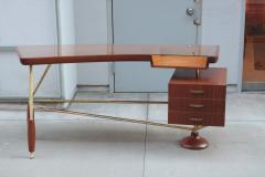 Sculptural Italian Modernist Desk - 1881205