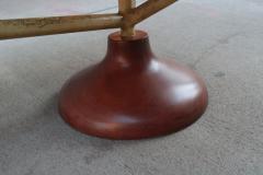 Sculptural Italian Modernist Desk - 1881209